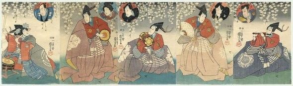 kuniyoshi-kabuki-musicians