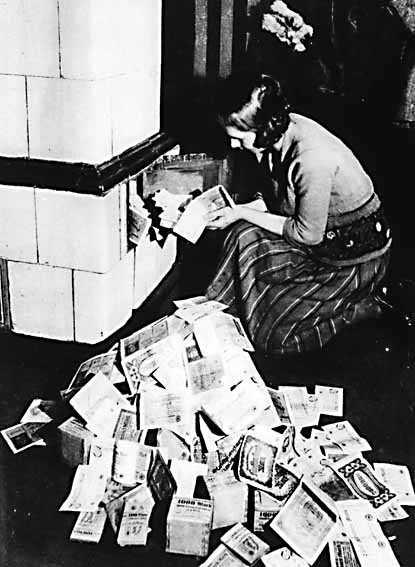 Geman inflation - pre WWII