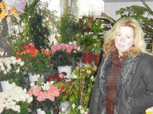 Nataliya is a single mother with two children. She runs a small business selling flowers in downtown Uzhgorod, Ukraine.