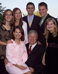 Michele Bachmann and family