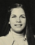 Michele Bachmann as high school senior