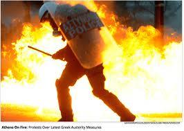 Burning in Athens