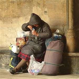 homeless in Greece