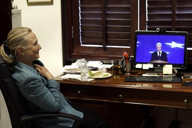 Hill watching Bill