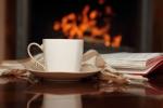 Tea by Fireplace dreamstime_14660067