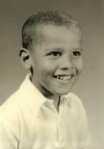 Barack Obama's inner child?