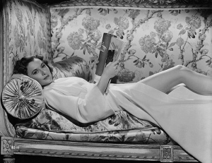 Barbara Stanwyk reading