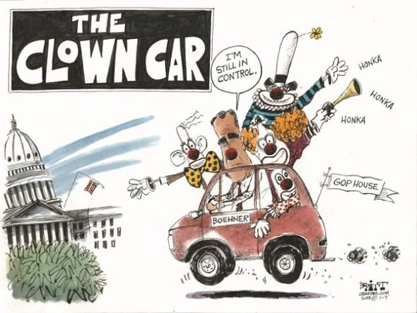 GOP clown car
