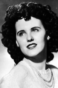 Elizabeth Short AKA The Black Dahlia