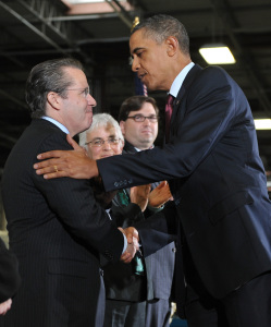 Gene Sperling and Barack Obama