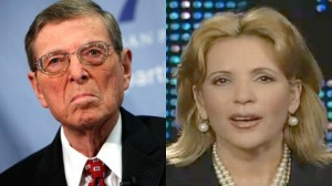 Pete Domenici and Michelle Laxalt