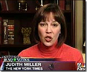 Judith Miller, Dick Cheney puppet