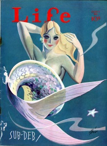 Mermaid Life magazine cover, June 5, 1931