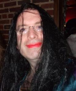 Dana Millbank in drag