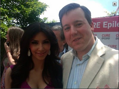 Ed Henry with Kim Kardashian