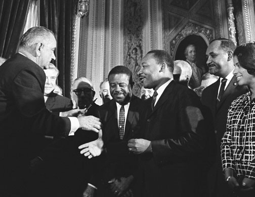 Voting Rights Act Signing (1)