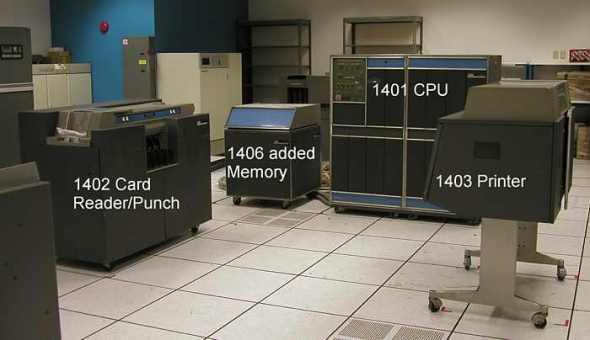 IBM 1401 computer