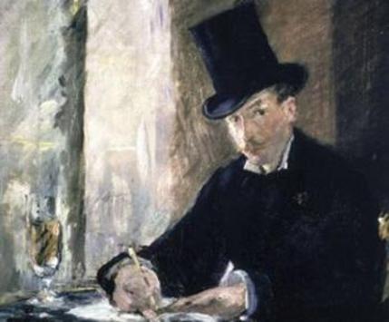 "Manet, ""Chez Tortoni"""