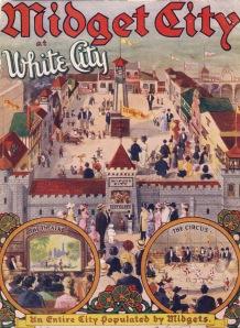 "Vintage Advertisement for ""Midget City"""
