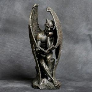 devil reading