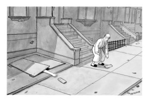 jason-patterson-hand-comes-out-of-basement-to-get-morning-paper-new-yorker-cartoon