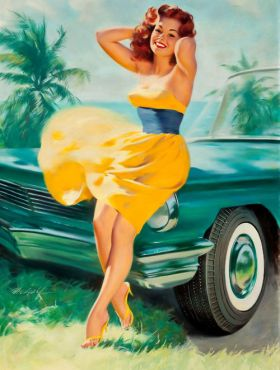 Pin-up by Bill Medcalf