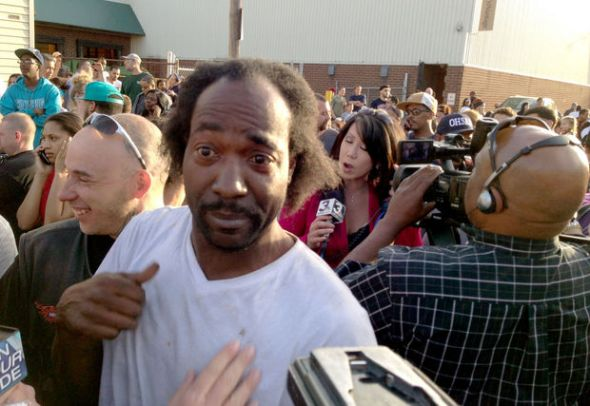 The man of the hour, Charles Ramsey, who went to the rescue after hearing Amanda's calls for help