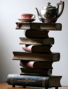 tea on books