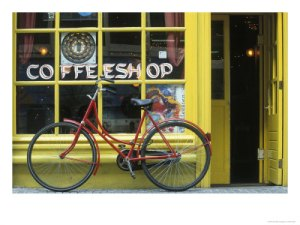 coffee shop bike