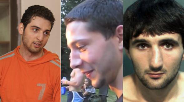 Tamerlan Tsarnaev, Brendan Mess, and Ibragim Todashev