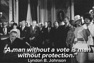 a man without a vote