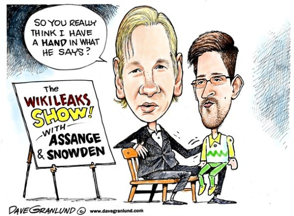 Assange and Snowden