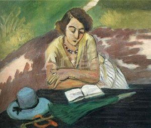henri-matisse_reading-woman-with-parasol-1921