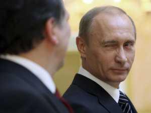 Putin wink