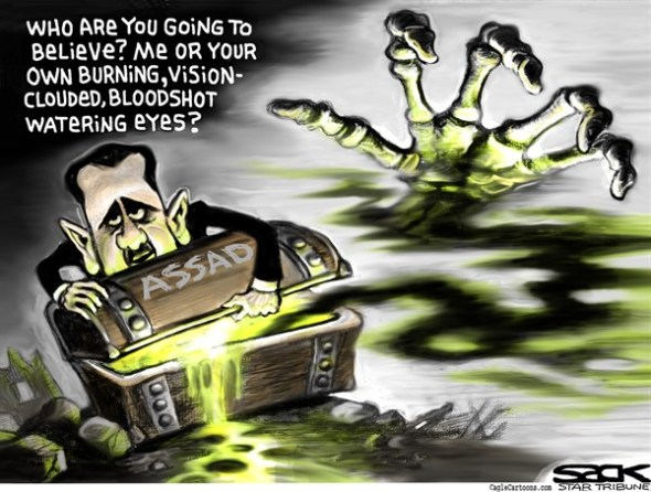 Assad Chemicals by Steve Sack