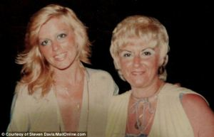 Debbie Davis, left, with her mother Olga, right, was the girlfriend of Stephen Flemmi, Whitey Bugler's gangster partner. She vanished in 1981 and her body was found dismembered in 2000 (Daily Mail)