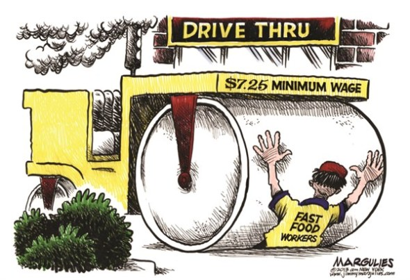 Fast Food Minimum Wage, by Jimmy Margulies