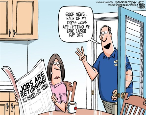 Labor Day Jobs, by Jeff Parker