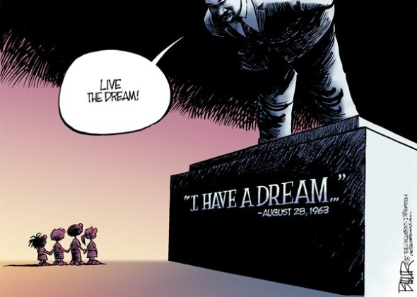 I Have A Dream Anniversary, by Nate Beeler