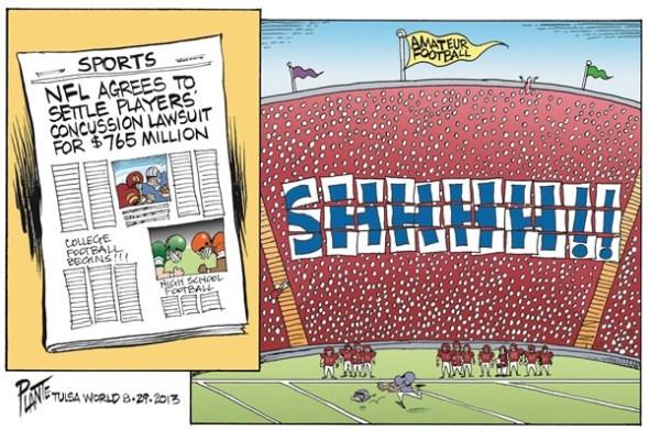 NFL Concussion Lawsuit, by Bruce Plante