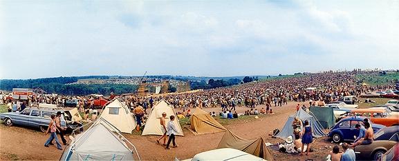 Woodstock Before the Music Began, by Eliott Landy
