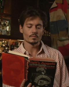 Johnny Depp reads