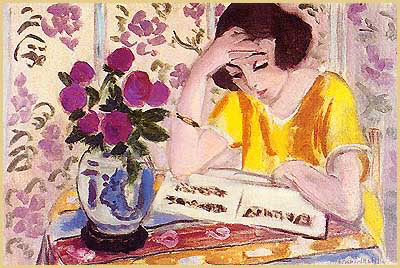matisse_woman_reading