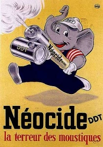 This vintage ad about sums it up...look at the symbolic GOP elephant and his poison can...