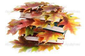 leaves books