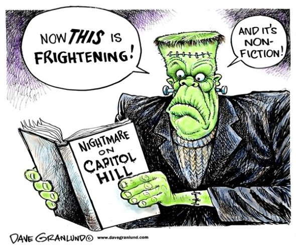 Nightmare on Capitol Hill Dave Granlund
