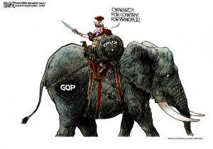 Ted Cruz Onward Michael Ramirez