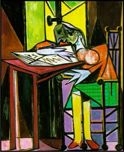 picasso3-womanreading