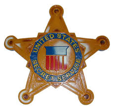 secret service badge
