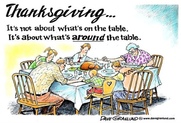 by Dave Grandlund http://www.cagle.com/2013/11/thanksgiving-priority/